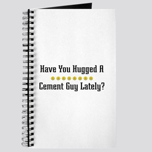 Hugged Cement Guy Journal