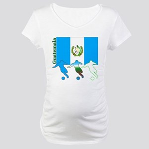 Guatemala Soccer Maternity T-Shirt
