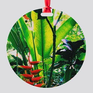 Tropical Round Ornament