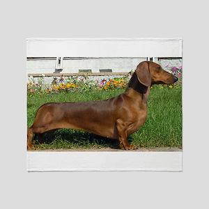 dachshund full Throw Blanket