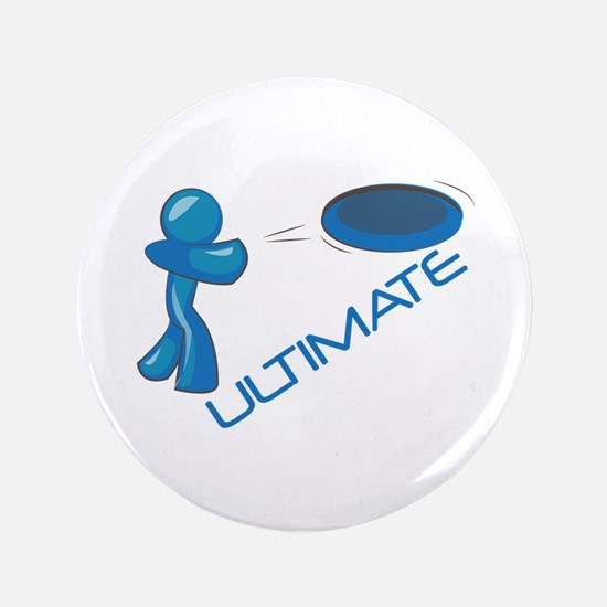 "Ultimate Frisbee 3.5"" Button"