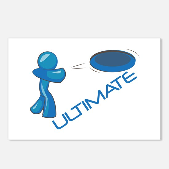 Ultimate Frisbee Postcards (Package of 8)