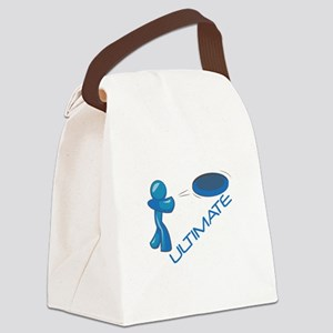 Ultimate Frisbee Canvas Lunch Bag
