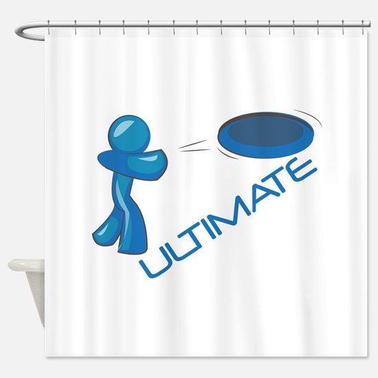 Ultimate Frisbee Shower Curtain