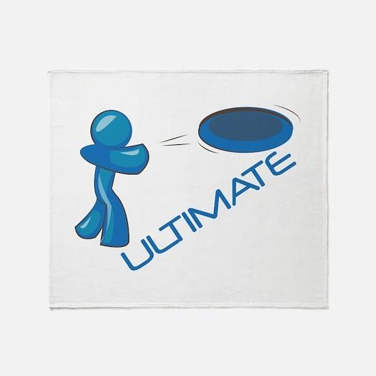 Ultimate Frisbee Throw Blanket