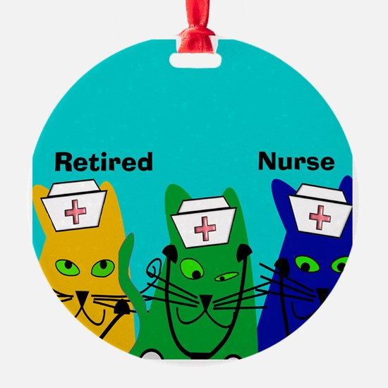 Retired Nurse FF 6 Ornament