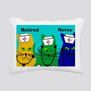 Retired Nurse FF 6 Rectangular Canvas Pillow