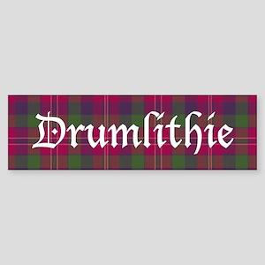 Tartan - Drumlithie dist. Sticker (Bumper)