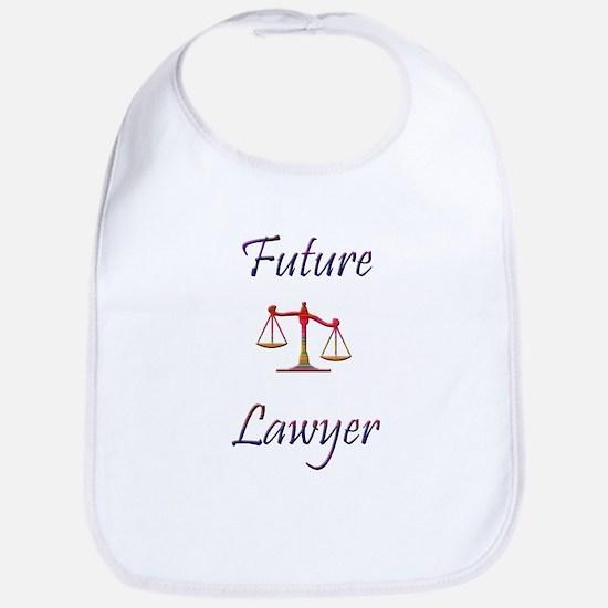 Future Lawyer Bib