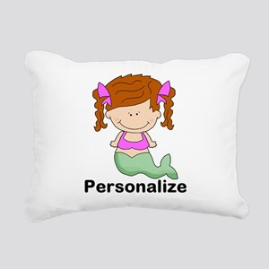 My Girl Personalized Rectangular Canvas Pillow