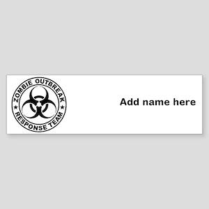 (bumper) Bumper Sticker