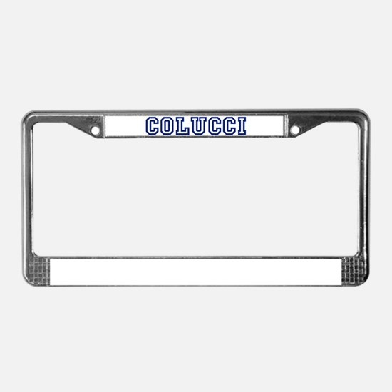 COLUCCI University License Plate Frame
