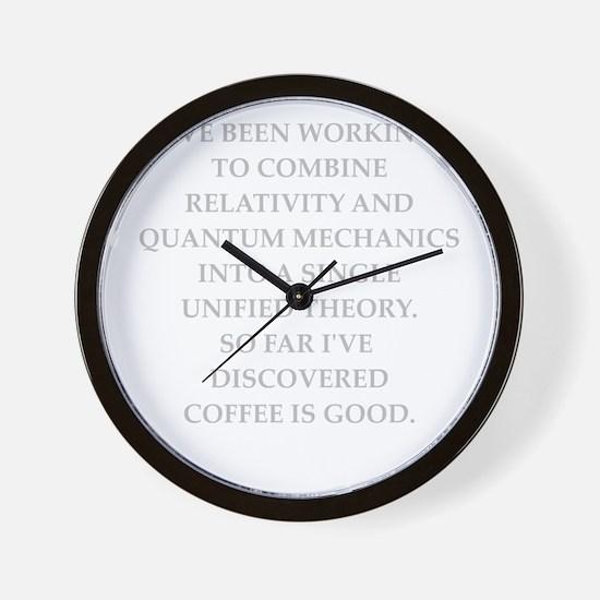 Unique Physics teacher Wall Clock