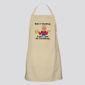 The un-holiday BBQ Apron
