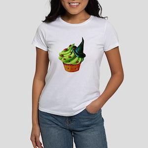 Green Halloween Cupcake T-Shirt