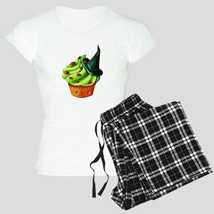 Green Halloween Cupcake Pajamas