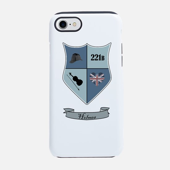 Sherlock Holmes Coat of Arms iPhone 7 Tough Case