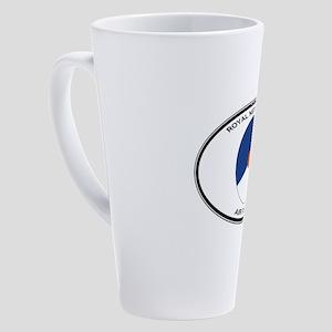 nl-air-force-roundel-labeled 17 oz Latte Mug