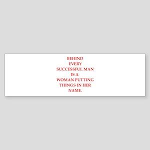 success Sticker (Bumper)