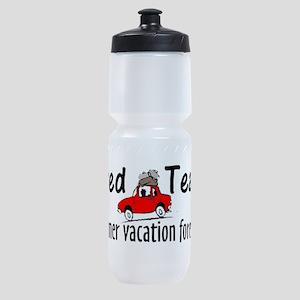 Retired Teacher Sports Bottle