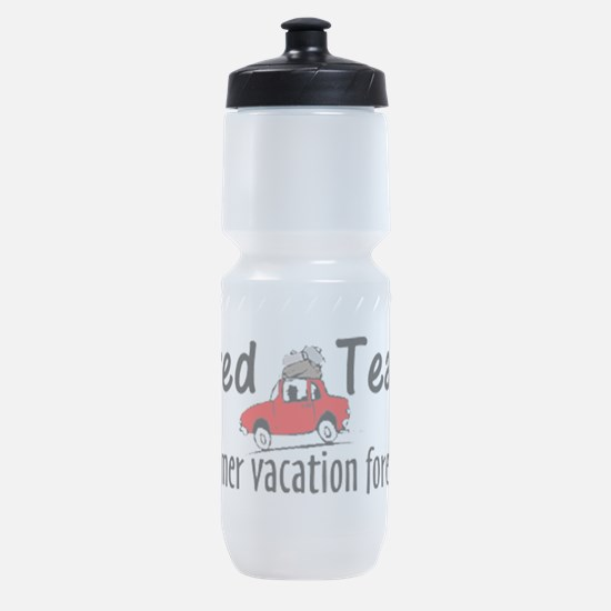 Retired Teacher Sports Bottle