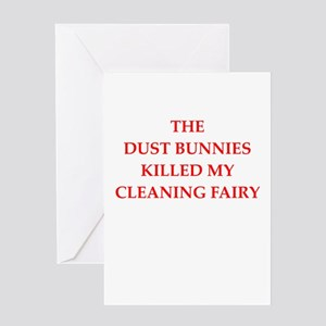 housekeeping Greeting Card
