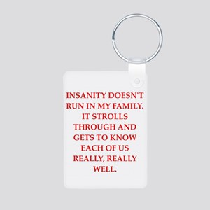 therapy Aluminum Photo Keychain