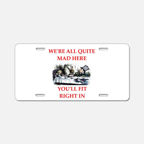 madness Aluminum License Plate