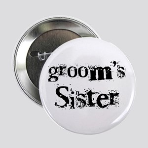 Groom's Sister Button