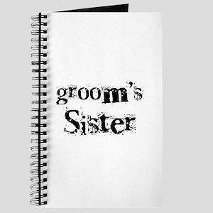 Groom's Sister Journal