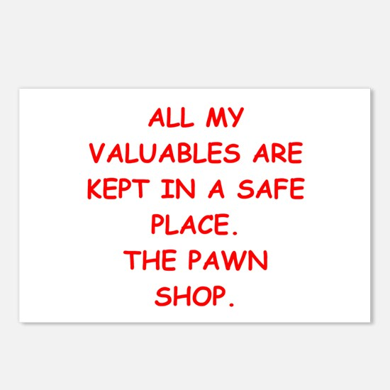 pawn shop Postcards (Package of 8)