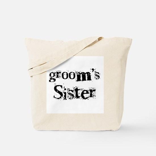 Groom's Sister Tote Bag