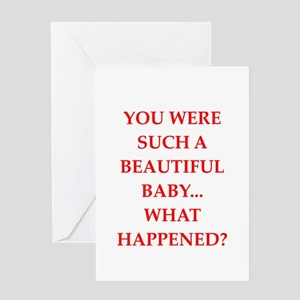 insult Greeting Card