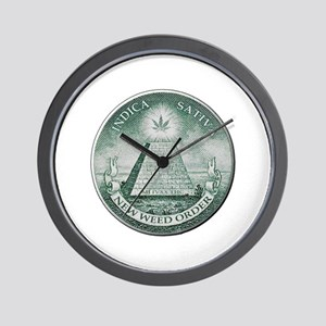 New Weed Order Wall Clock