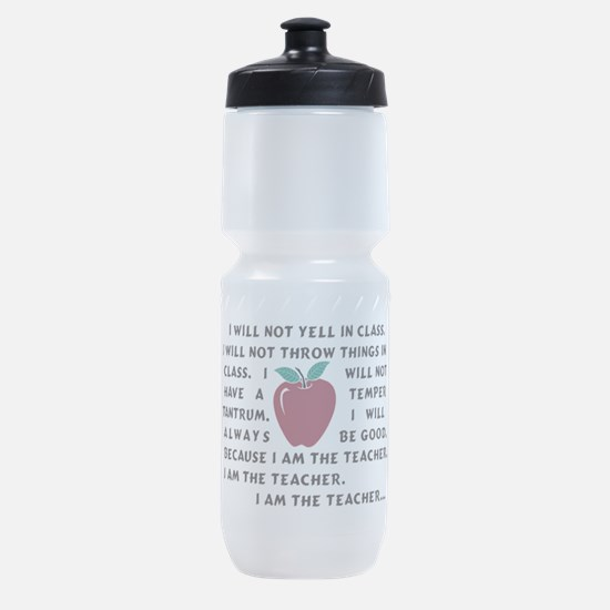I am the Teacher! Sports Bottle