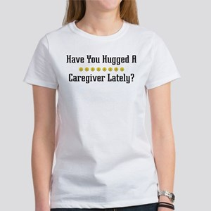 Hugged Caregiver Women's T-Shirt
