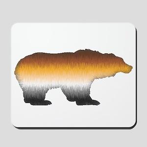 FURRY BEAR PRIDE BEAR CUTOUT Mousepad