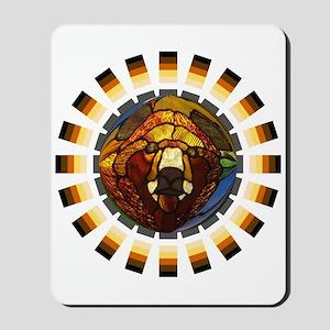 BEAR PRIDE/GLASS BEAR Mousepad