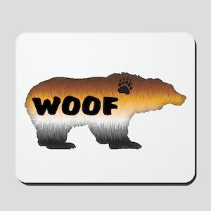 FURRY PRIDE BEAR/WOOF Mousepad