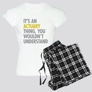 Its An Actuary Thing Women's Light Pajamas