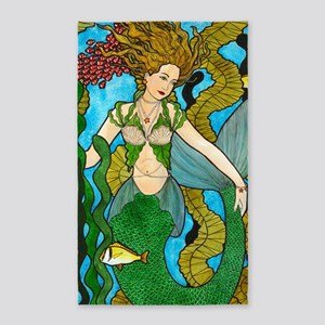 Seaweed Mermaid 3'x5' Area Rug