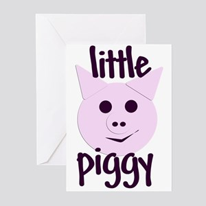 Little Piggy Greeting Cards (Pk of 10)