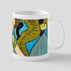Seaweed Mermaid Mugs