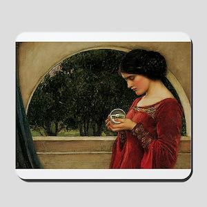 Crystal Ball Waterhouse Painting Magic Fantasy Mou