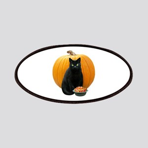 Black Cat Pumpkin Patches