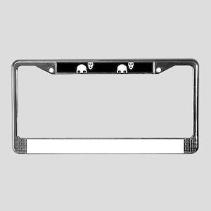 Skulls License Plate Frame