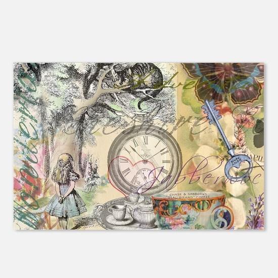 Cheshire Cat Alice in Wonderland Postcards (Packag