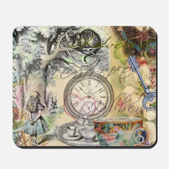 Cheshire Cat Alice in Wonderland Mousepad
