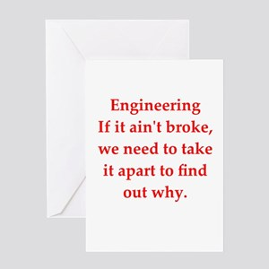 Funny Mechanical Engineering Greeting Cards