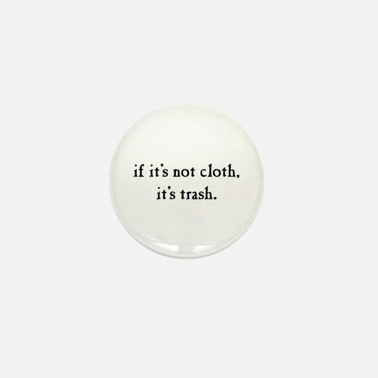 Cloth diaper advocacy Mini Button